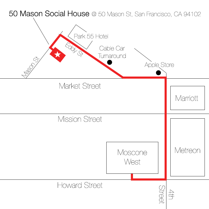 Directions To 50 Mason