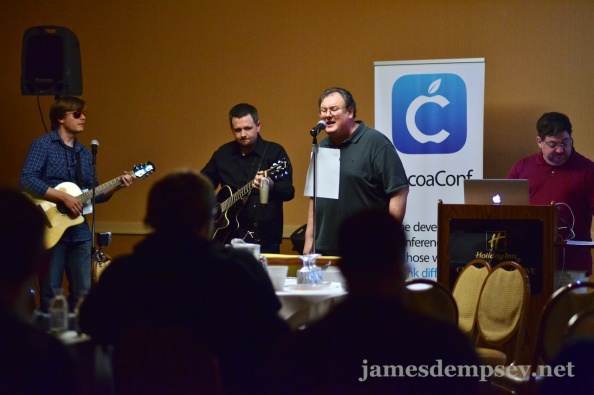 James Dempsey and the Breakpoints performing