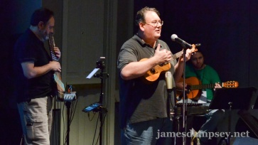 Eric Knapp, James Dempsey and Will LaFrench perform